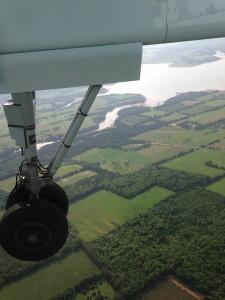Landing in PEI